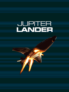 Screenshots of the Jupiter Lander for java mobile, phone.