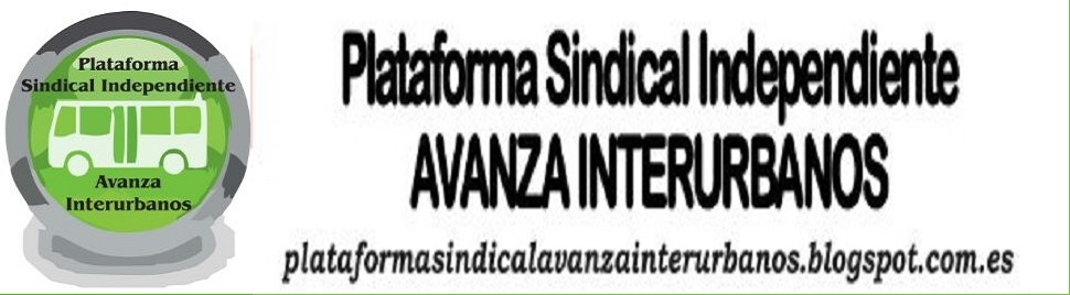 Plataforma Sindical Independiente Avanza Interurbanos