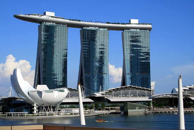 Marina Bay view from Esplanade