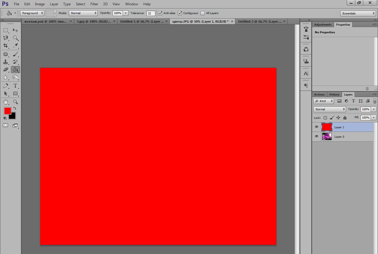Совет 2: Как сделать слой прозрачным в photoshop 66