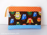 "Bolsa ""Mochos"" postados no Cuteable!"