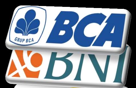 NO REK BCA    2940276635  / NO REK BNI 0334313367