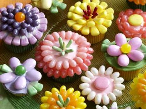 Spring Cupcake Designs