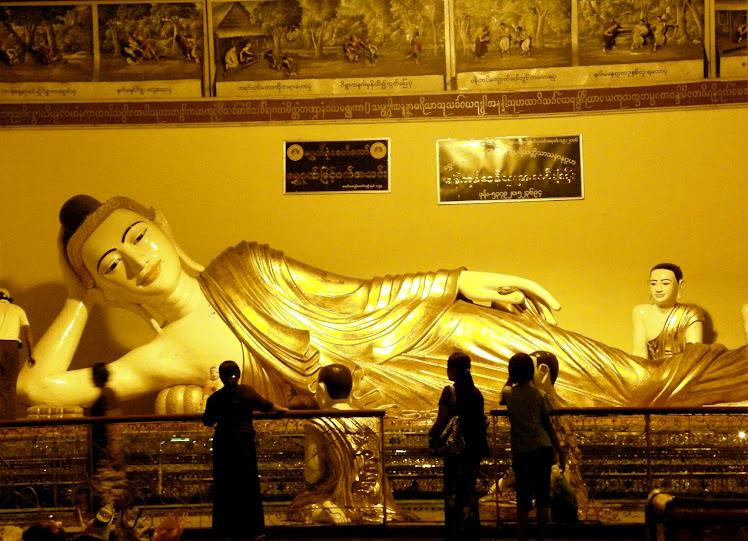 缅甸,黄金佛国