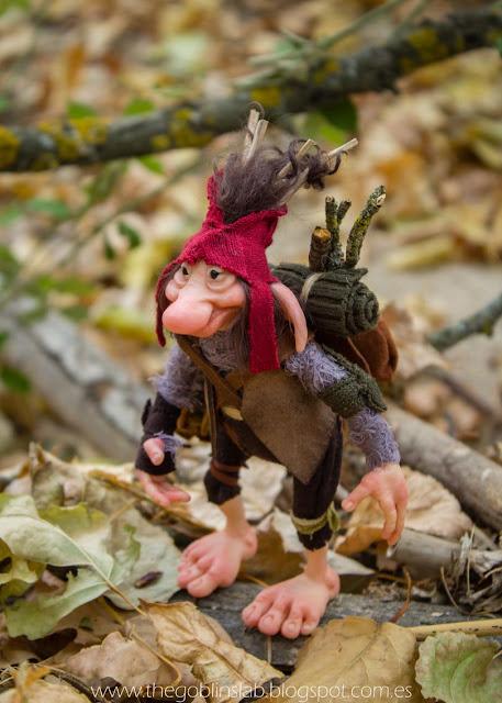 ooak goblin handmade unique fantasy creatures artist