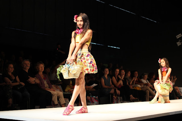 Oca Loca Madrid Fashion Show SS15 | Chichi Mary Kid's Boutique