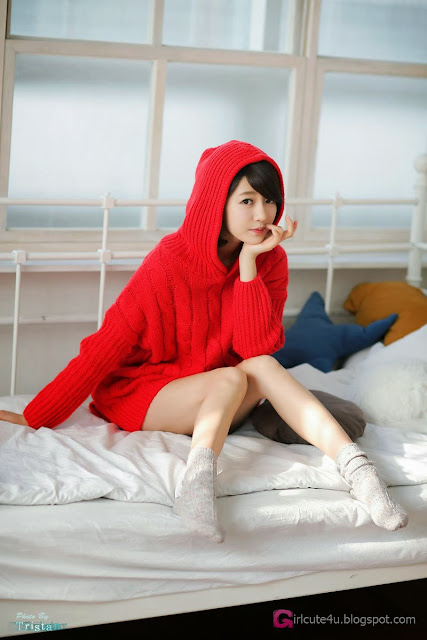 2 Bo Mi in red - very cute asian girl-girlcute4u.blogspot.com