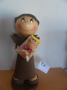 bonecos religiosos Santo Antonio(feito por mim)