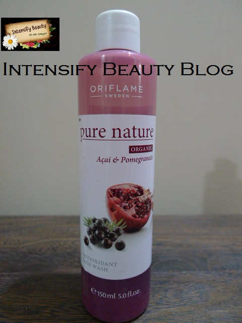 Oriflame Pure Nature Antioxidant Face Wash