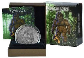 Silver Bigfoot Coin Sale!