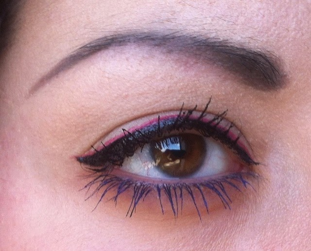 Dior IT Lash mascara black purple, dior it line eyeliner pink