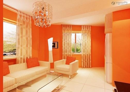 Sala De Estar Naranja ~ 10 Salas color Naranja  Ideas de salas con estilo