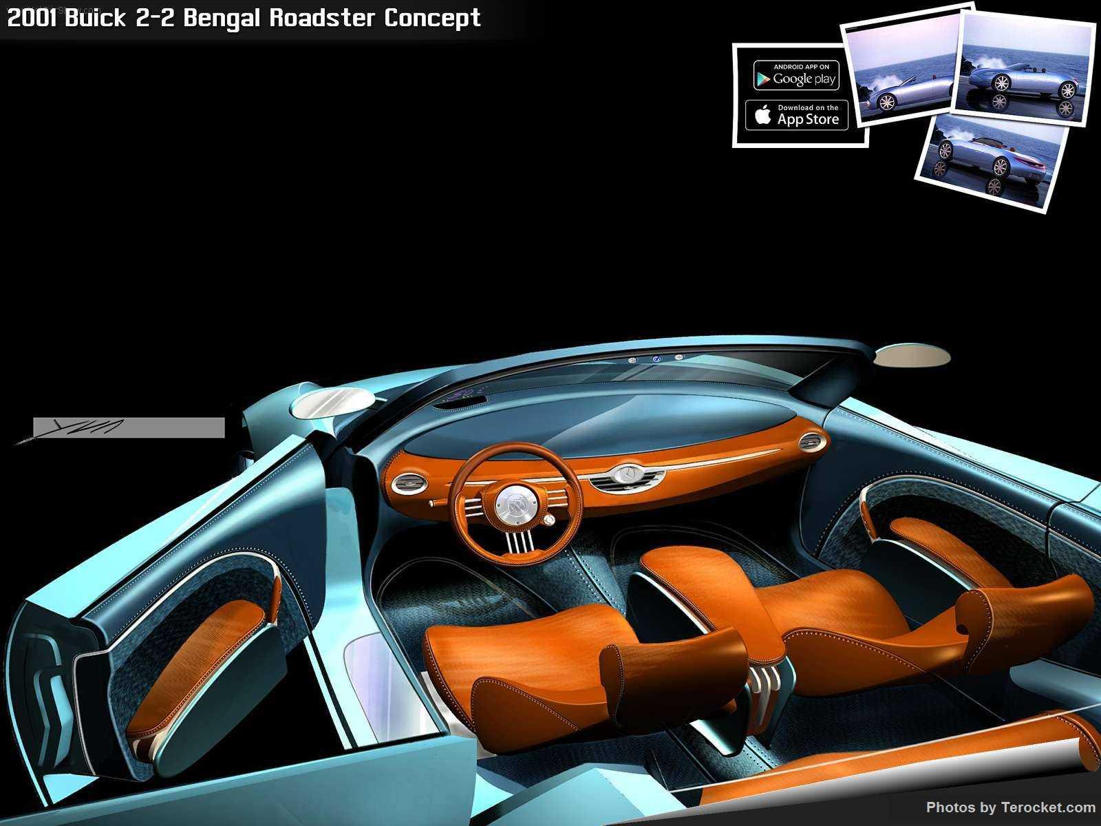Hình ảnh xe ô tô Buick 2-2 Bengal Roadster Concept 2001 & nội ngoại thất