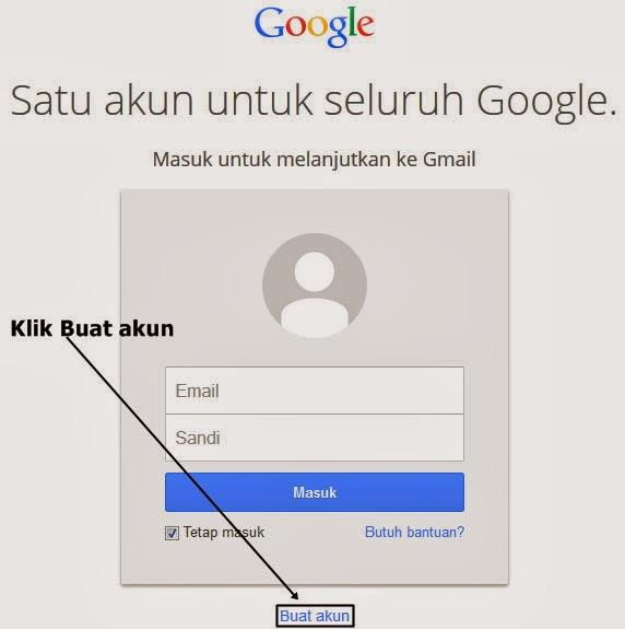 Form Login Gmail
