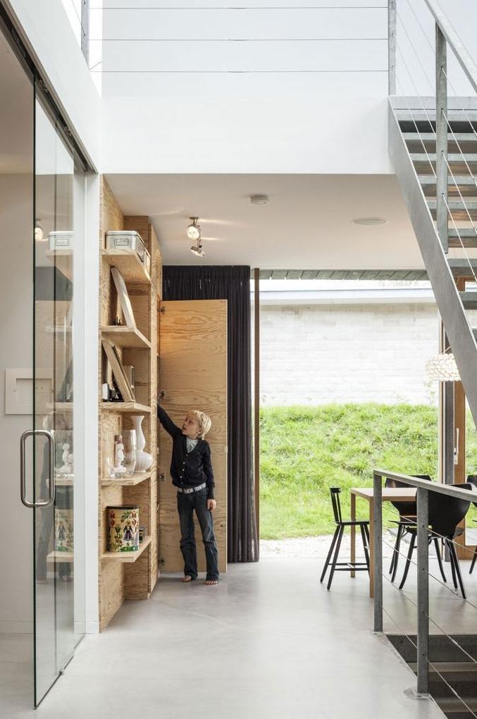 Interior of Modern Villa V by Paul de Ruiter Architects