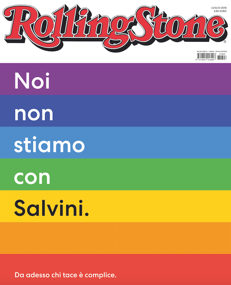 Non stiamo con Salvini