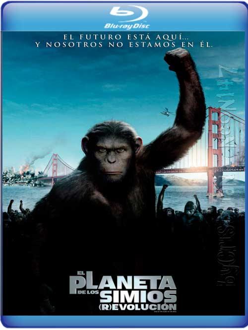 El Planeta De Los Simios: Revolución (Español Latino) (BRrip) (Audio AC3) (2011)