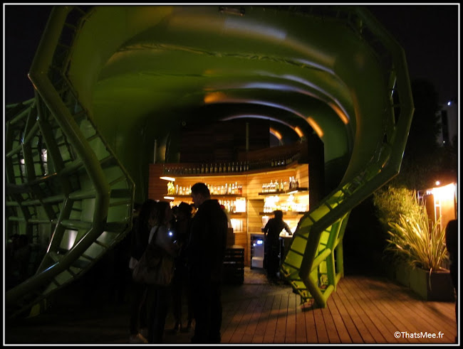 Terrasse Wanderlust, Paris  32 quai d'Austerlitz, cité de la mode et du design bar