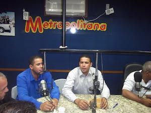 Radio Metropolitana em Mogi das Cruzes SP