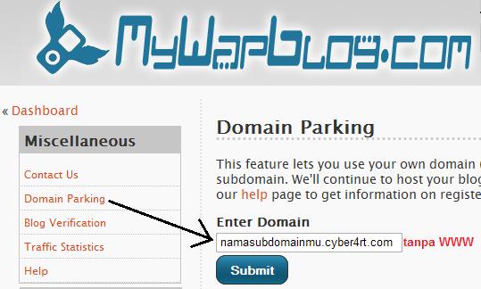 Subdomain Gratis Cyber4rt.com