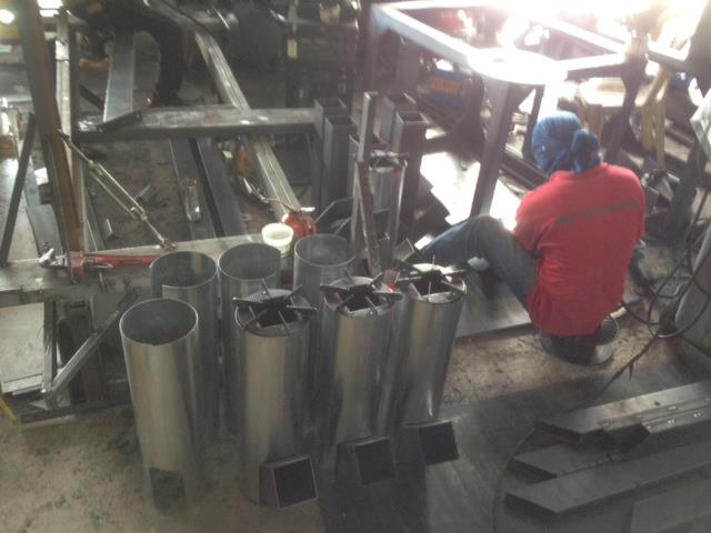 Rocket Stove Insulation : Come and make it rocket stoves gasifier stove real