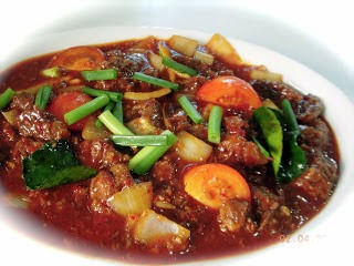 Daging Stir Fried