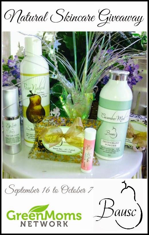 http://thegreengrandma.blogspot.com/2014/09/natural-skincare-giveaway.html