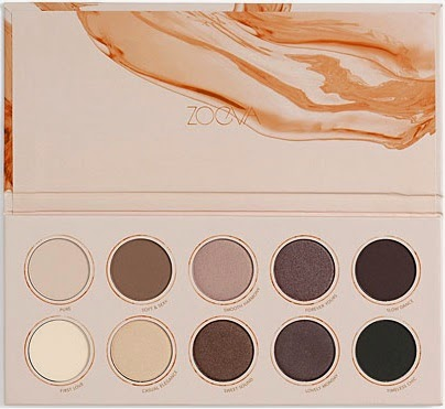 Zoeva - Naturalli Yours Eyeshadow Palette