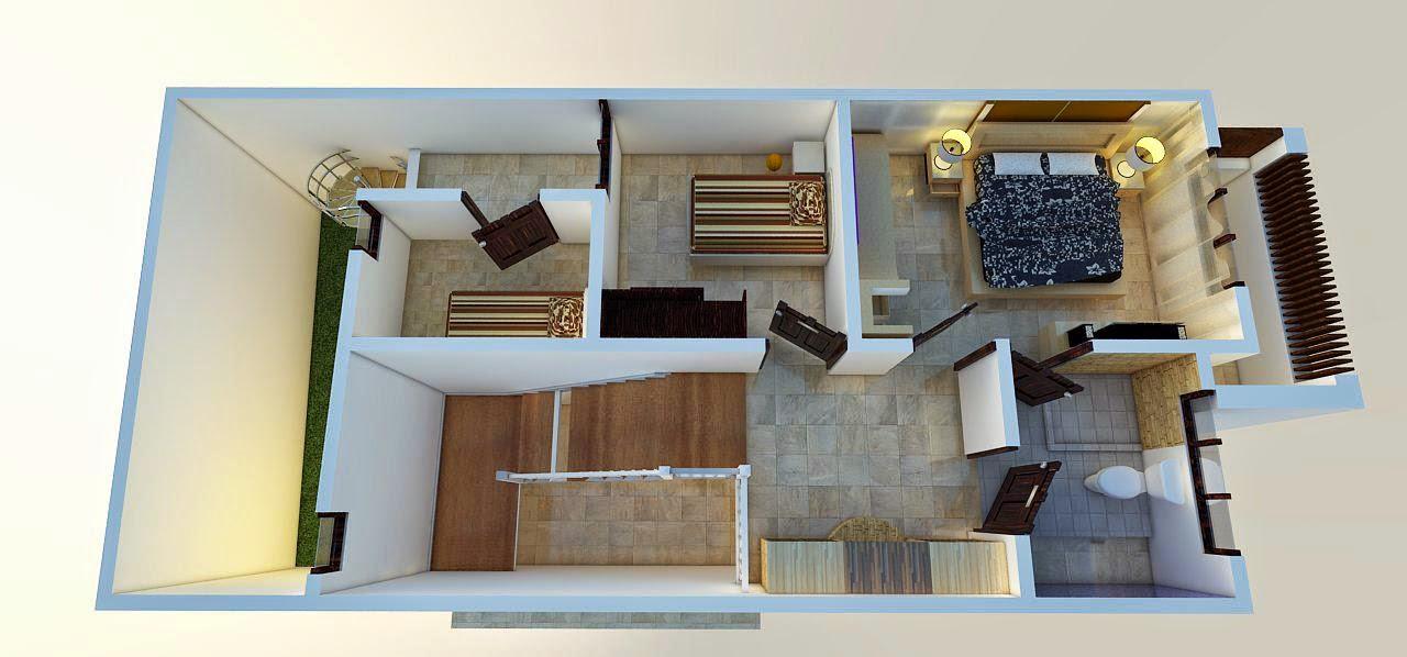 rumah minimalis 3 kamar tidur desain baru kumpulan