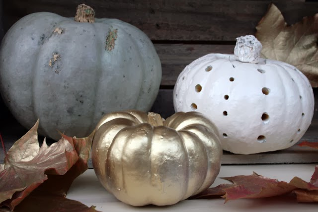 Golden pumpkin, halloween, glam