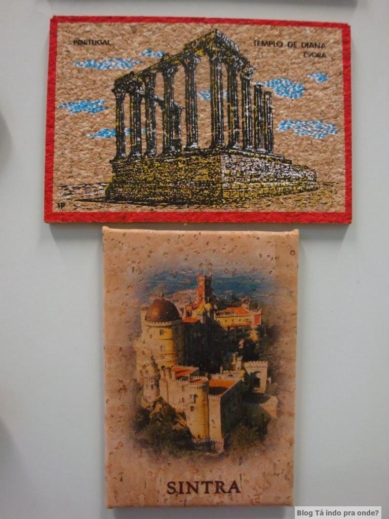 imãs de cortiça de Portugal