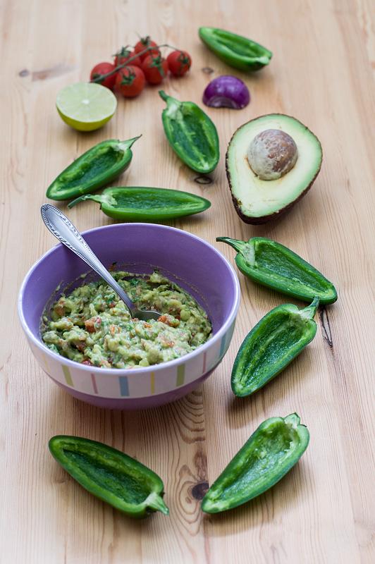 Jalapeno tapas guacamole top