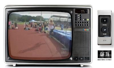 écran de télévision sport