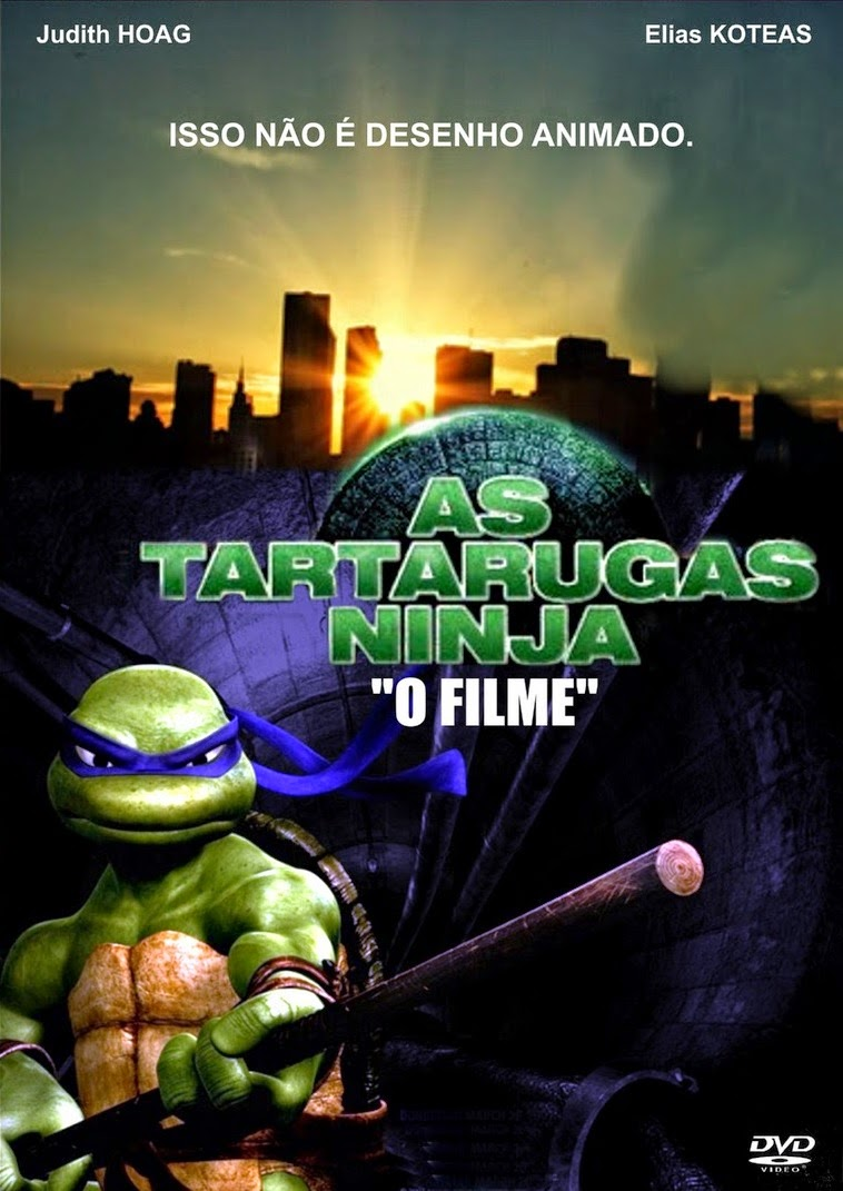 As Tartarugas Ninja – Dublado (1990)