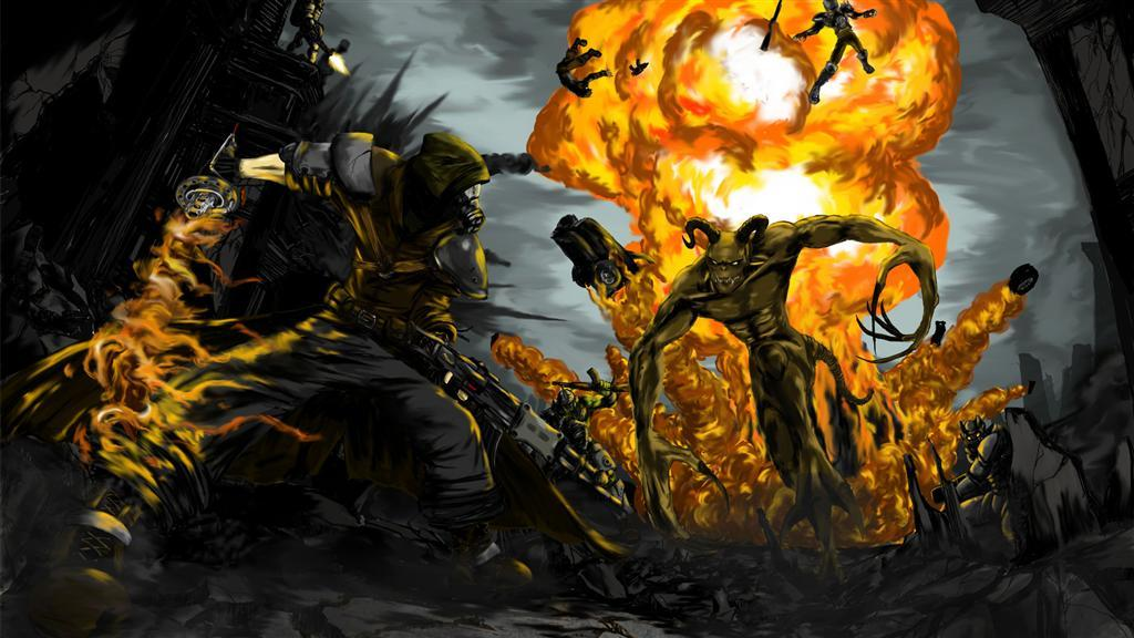 Fallout HD & Widescreen Wallpaper 0.988008839524323