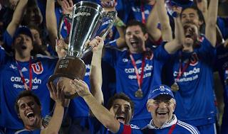 Universidad de Chile se coronó campeón del apertura chileno 2011
