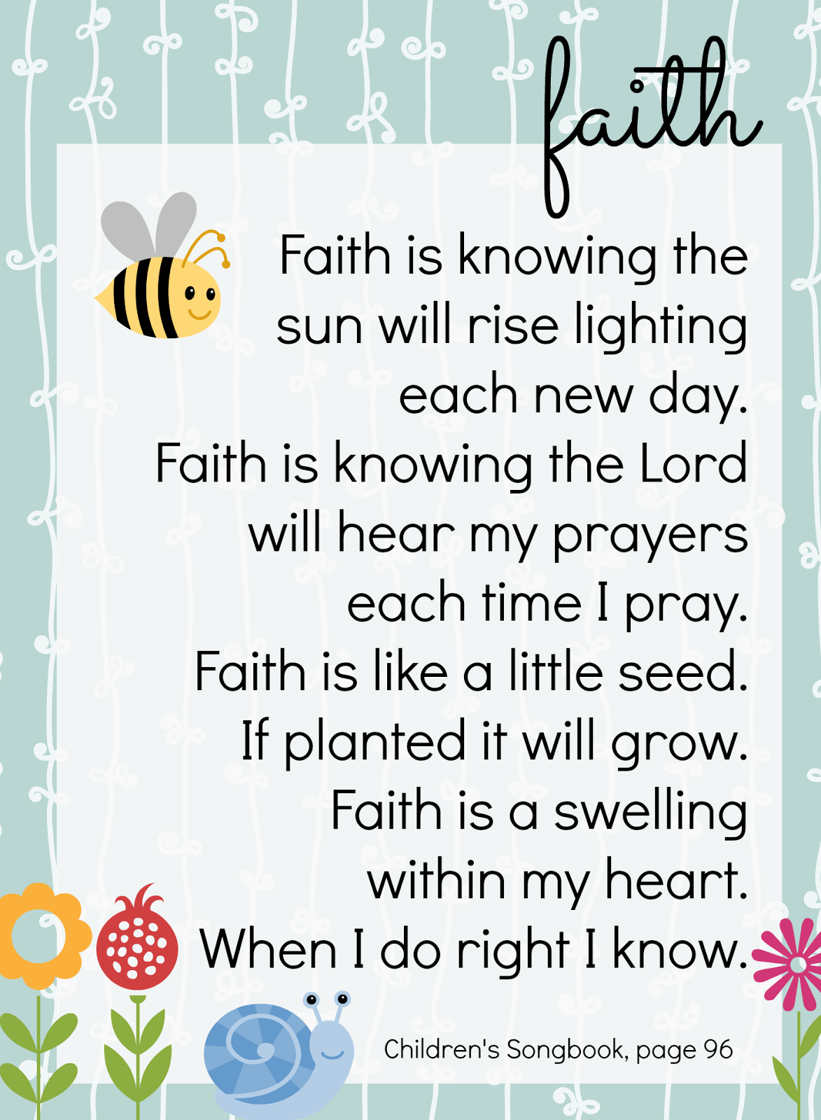Ginger Snap Crafts: Faith is Like a Little Seed {family activity}