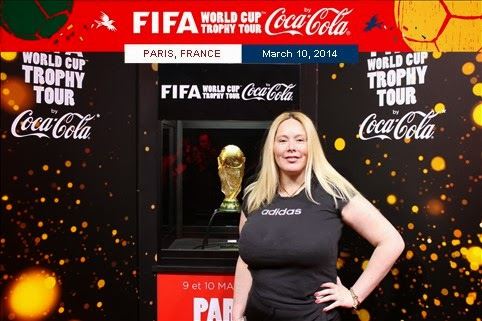 WORLD CUP TROPHY TOUR COCA COLA