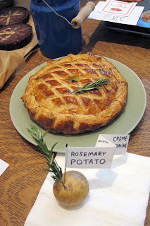 Omnivore Books Rosemary Potato Pie