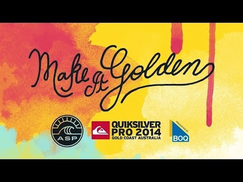 2014 Quiksilver Pro Gold Coast Trailer