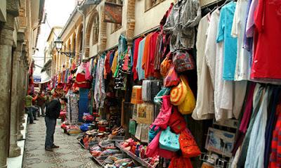 Granada España calles turismo