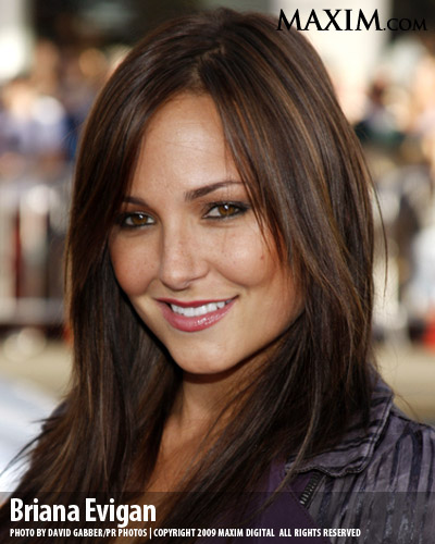 Briana Evigan appeared on Maxim.com as the girl from