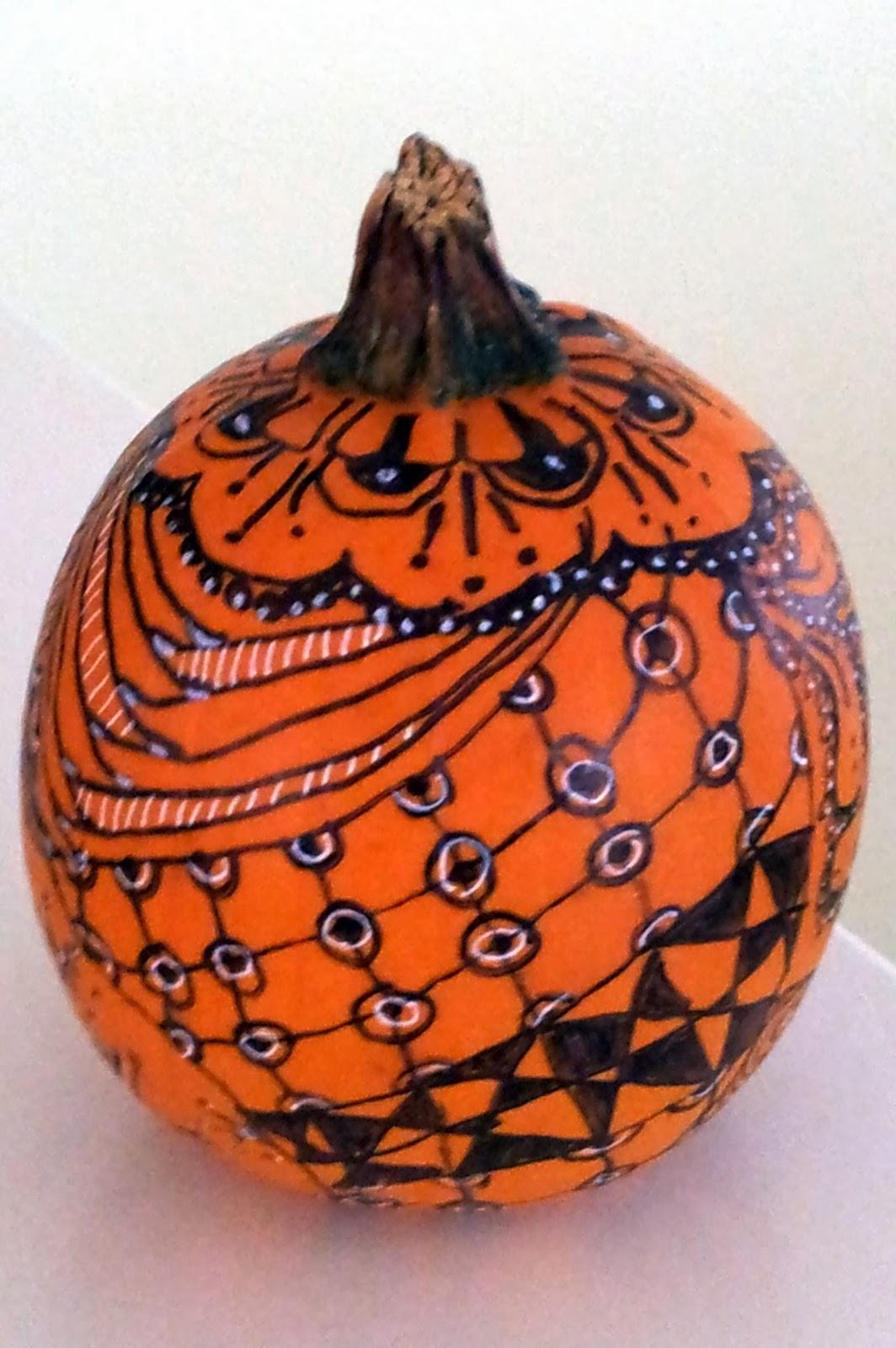 zentangle u00ae as presented by g  klein  czt  pumpkin zia