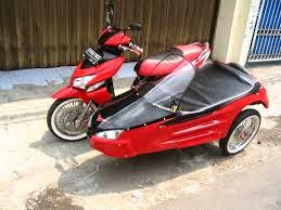 modifikasi motor honda vario pgm fi side car