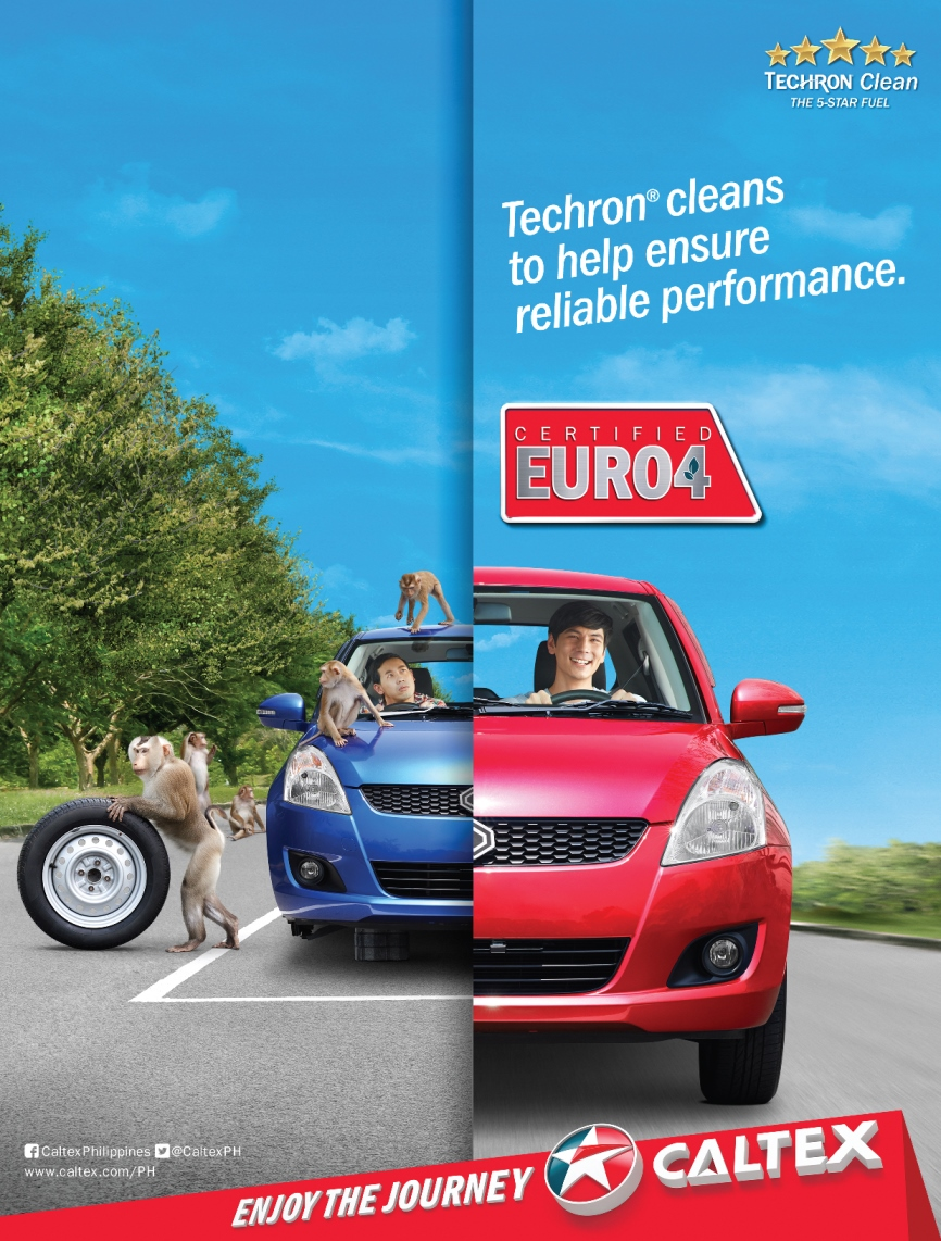 Euro 4 Caltex with Techron