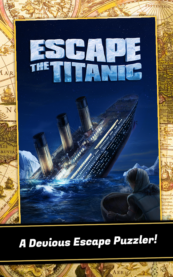 Escape The Titanic Full Version Apk (FULL UNLOCKED Dan Unlimited Hints)