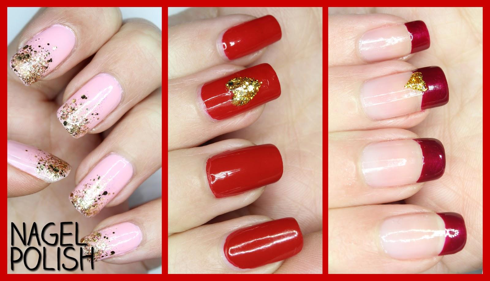Nagel Polish   Blog rund um Nail Art!: Valentinstag Nägel   Drei ...