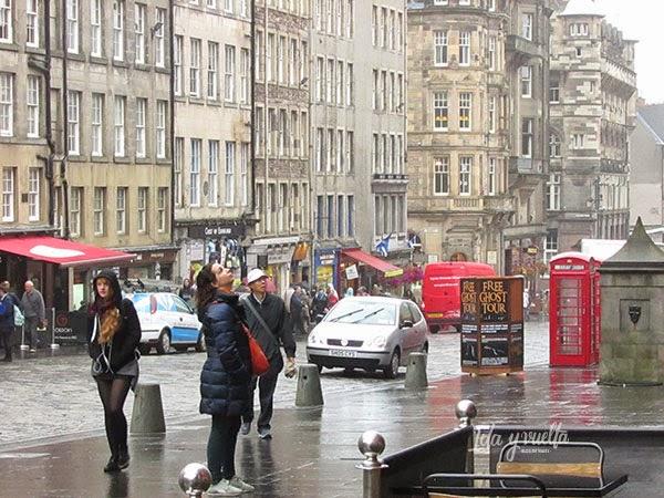 Despistada en Edimburgo