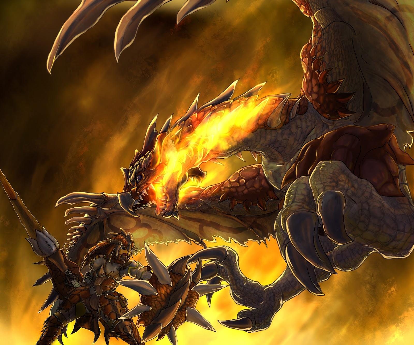 Wallpaper Desktop: Dragon Wallpaper