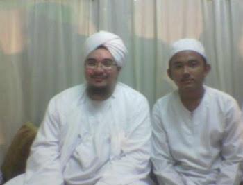 Ntong Fikry bersama Habib Jindan